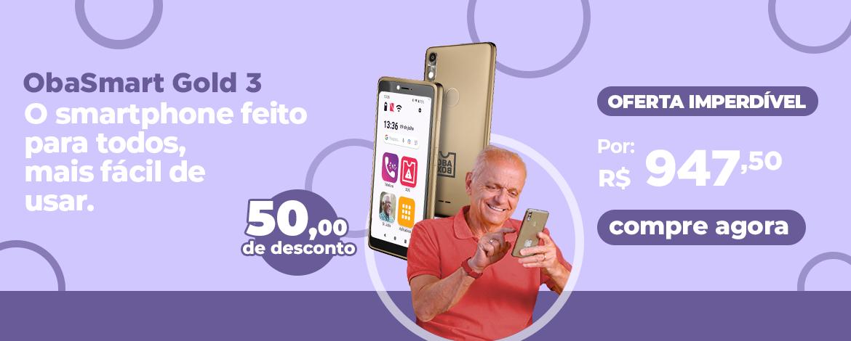 Obasmart 3 celular 16gb